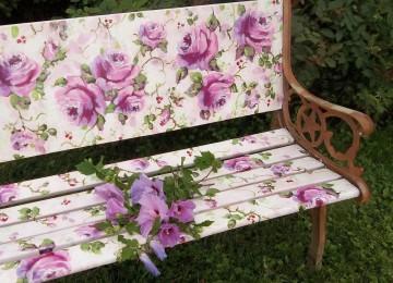 Цветочная мебель своими руками