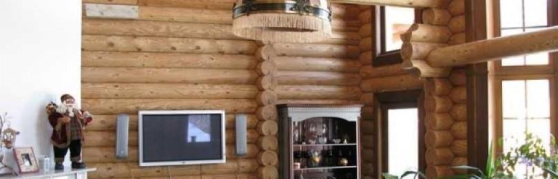 Дома из оцилиндрованного бревна: фото, основные моменты и стоимость