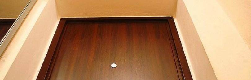 Как отделать входную дверь изнутри своими руками