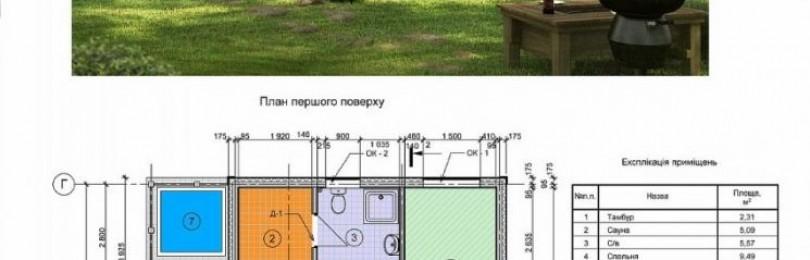 Проекты домов 6 на 9: выбор материала, этажности и планировки дома