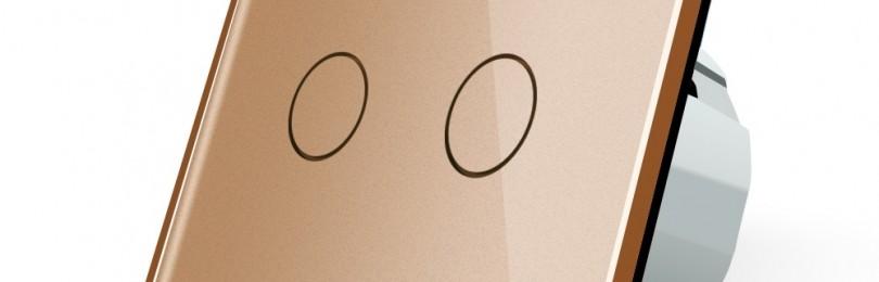 Сенсорные выключатели Livolo – в каждый дом