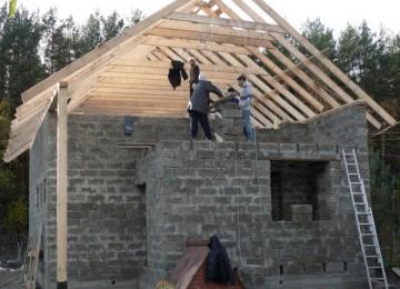 Крыша двухскатная своими руками – чертежи