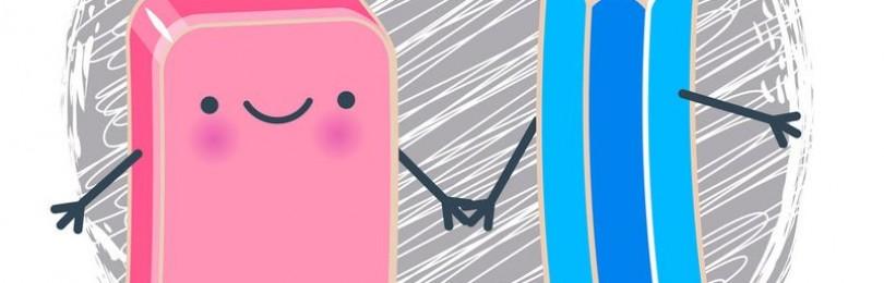 Карандаш и ластик – неожиданные способы их применения с пользой в быту