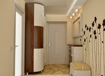 Интерьер маленькой прихожей в квартире – фото
