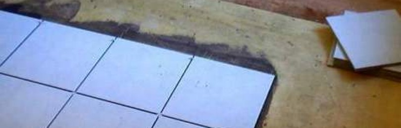 Как подготовить деревянный пол под укладку плитки