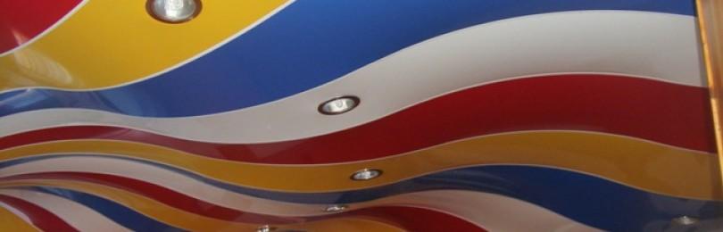 Каталог цветов натяжных потолков – номера