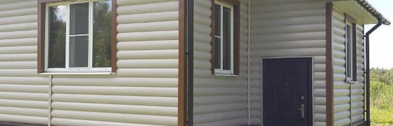 Отделка дома сайдингом снаружи, фото