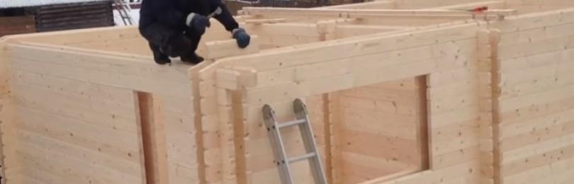 Двойной брус. Технология строительства дома из двойного бруса