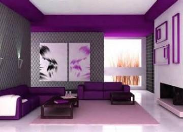 Отделка стен обоями двух цветов: фото и советы по дизайну
