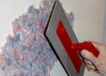 Нанесение жидких обоев на стену: 5 важных секретов