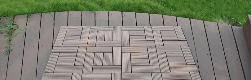 Полимерная плитка для садовых дорожек