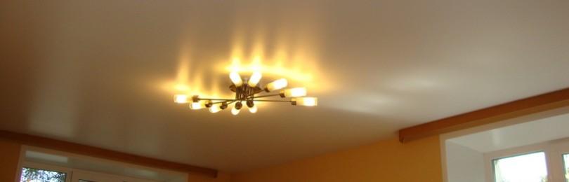 Какие натяжные потолки лучше матовые, глянцевые или сатиновые?