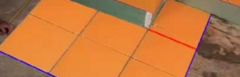 Как положить кафель на пол и стены своими руками