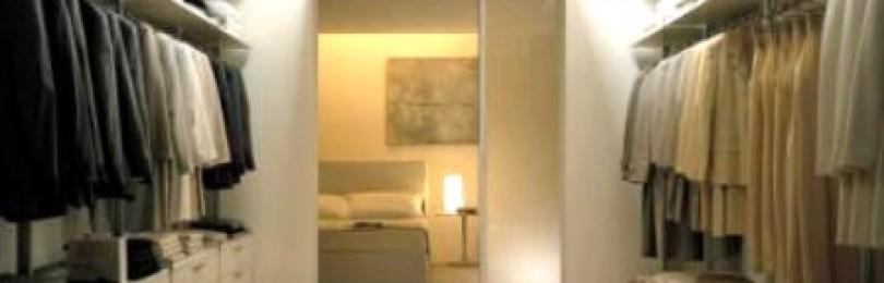 Что представляют собой современные гардеробные комнаты