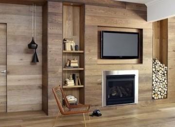 Отделка стен и потолков деревянными отделочными панелями