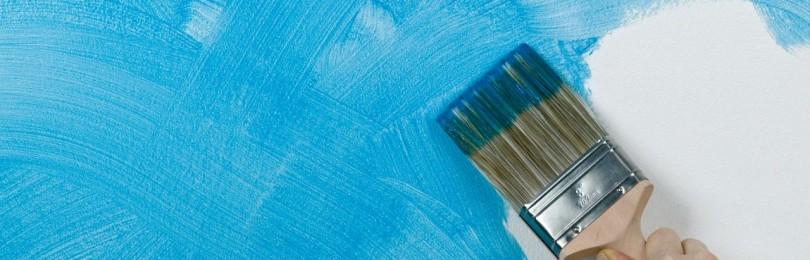 Креативное нанесение краски на стены: 7 необычных способов