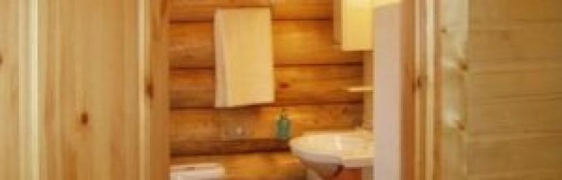 Ванная комната в каркасном доме