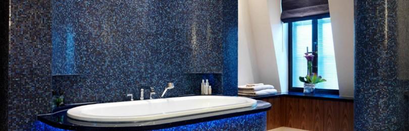 Ванная комната в синих тонах: какой стиль выбрать?