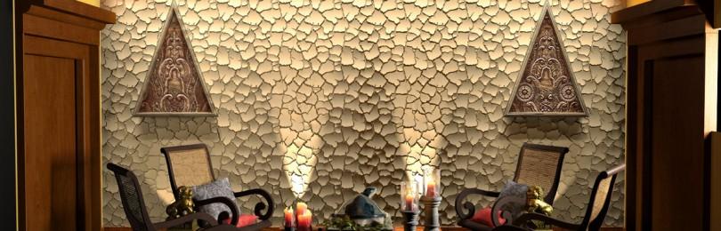 Особенности декоративных панелей для стен: 5 популярных видов