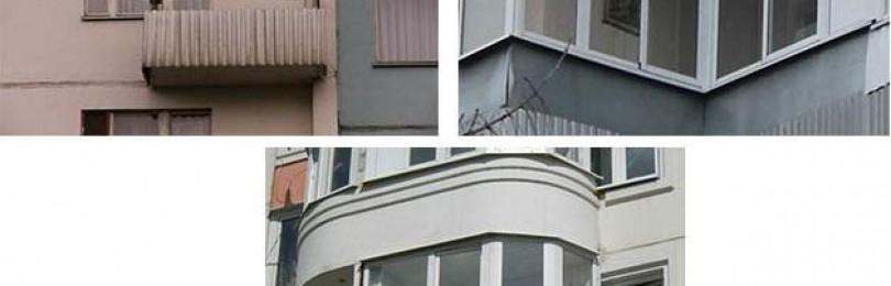 Остекление балконов: методы, виды, варианты