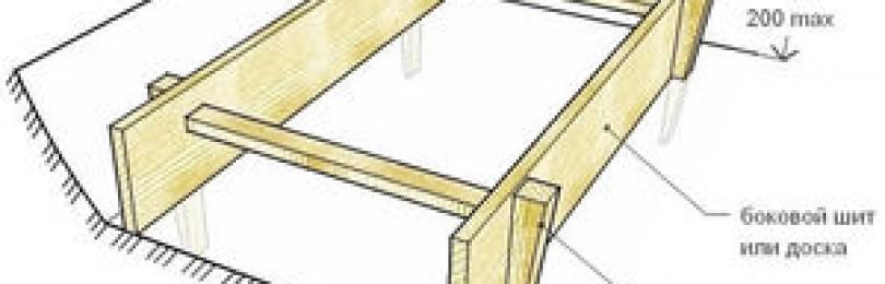 Когда снимают опалубку после заливки бетонного раствора?