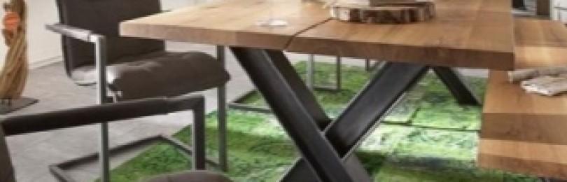 Столы в стиле лофт: фото, виды, материалы, формы, примеры дизайна, цветовая гамма