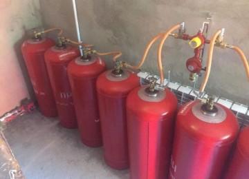 Отопление частного дома газовыми баллонами – расход