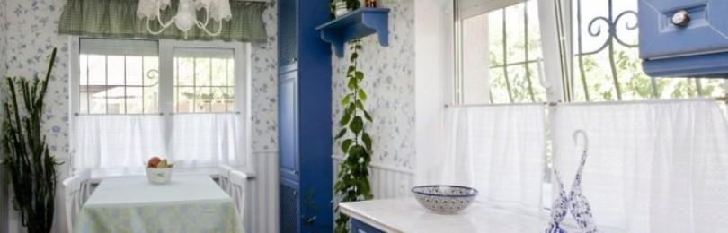 Выбор и применение штор в стиле прованс в интерьере
