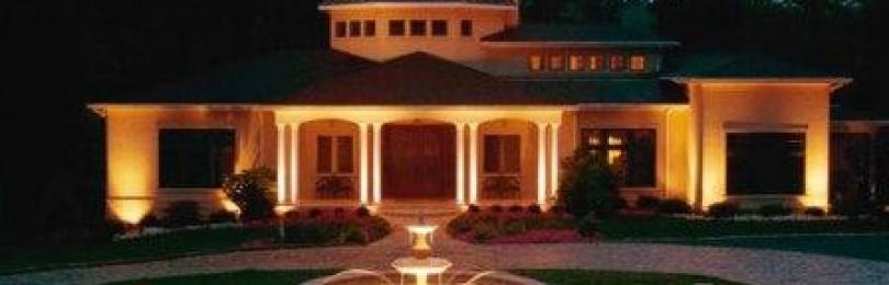 Подсветка фасада светодиодами