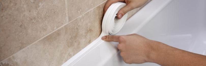 Бордюрная лента для ванны: монтаж, характеристики