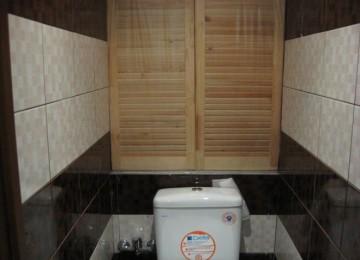 Как сделать шкафчик в туалете своими руками