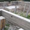 Какой фундамент подойдет для бревенчатого дома