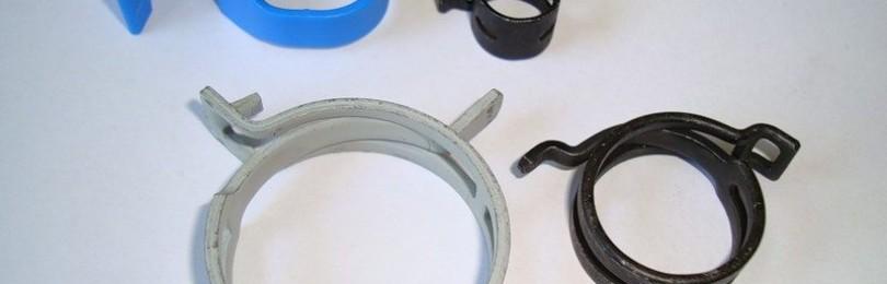 Хомуты для крепления пластиковых труб в условиях высокого линейного расширения