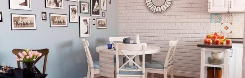Кирпичная стена на кухне, плюсы и минусы современного интерьера