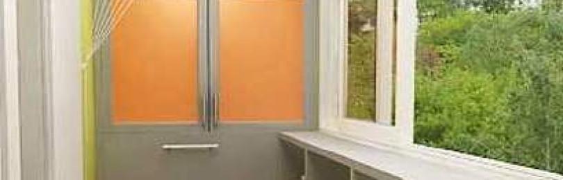 Шкаф на балконе: фото, как красиво сделать?