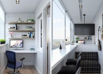 Во что можно превратить балкон?