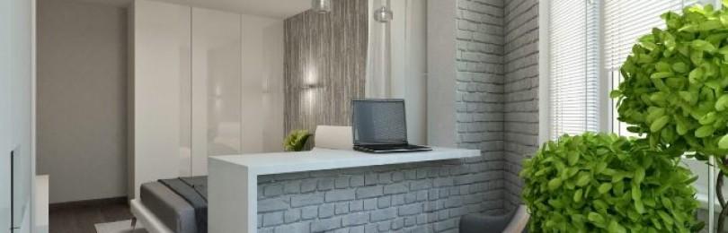 Совмещение лоджии или балкона с комнатой