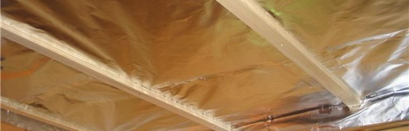 Как утеплить потолок в бане своими руками