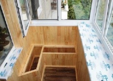 Как утеплить ящик для картошки на балконе