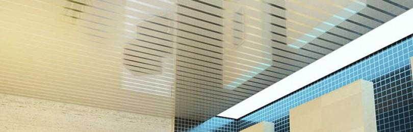 Особенности реечных и ячеистых подвесных потолков