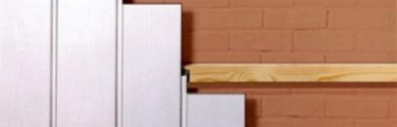Обшивка стен туалета стеновыми панелями из ПВХ