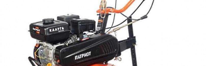 Особенности бензинового мотоблока patriot калуга 7 л.с.: технические характеристики, отзывы, цены
