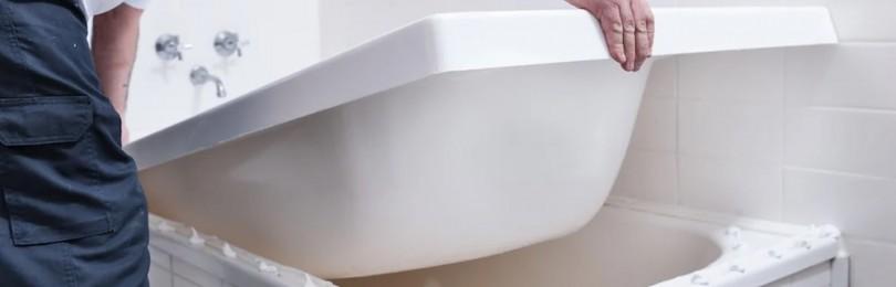 Реставрация старой чугунной ванны: за и против
