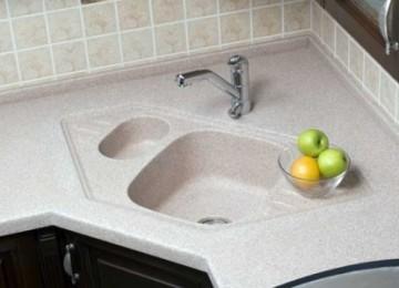Столешница из искусственного камня для ванной комнаты и кухни своими руками