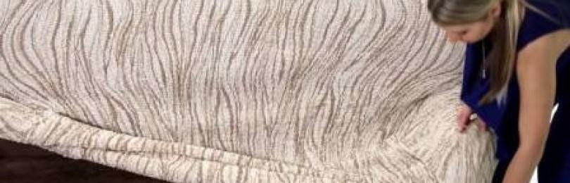 Еврочехлы на угловой диван:  прекрасное решение для интерьера