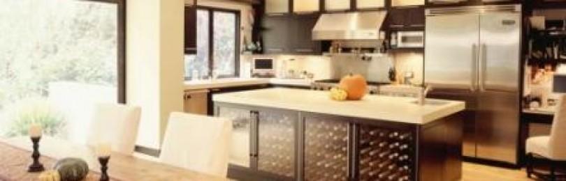 Большая кухня: дизайн, фото, выбираем оптимальный вариант