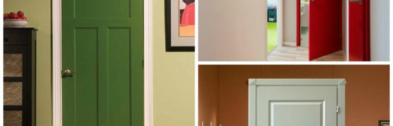 15 способов обновления старой двери