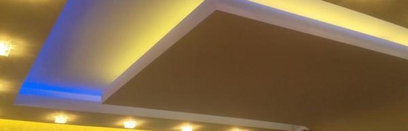 Какую светодиодную ленту выбрать для подсветки потолка