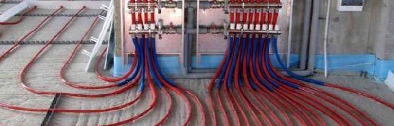 Теплый пол под плитку электрический своими руками