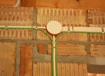 Принципы правильного монтажа электропроводки под штукатурку